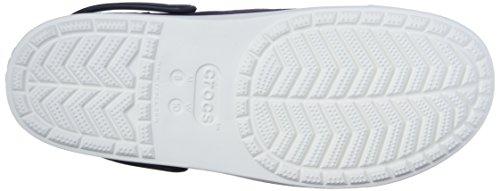 Mule Crocs Navy White Canvas Unisex Citilane Sxxnf4qwF7