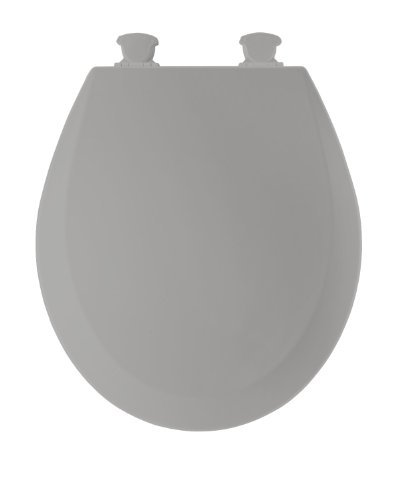 Bemis 500EC162 Molded Wood Round Toilet Seat With Easy Clean...