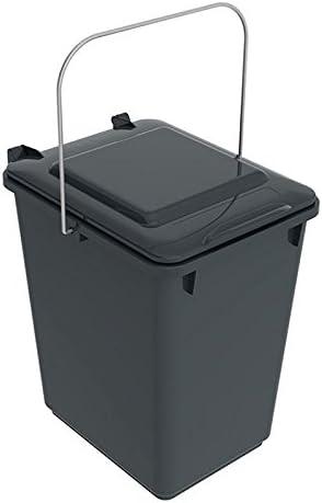 SULO Mülleimer Vorsortierbehälter Bio Boy, Inhalt 10 l Dunkelgrau