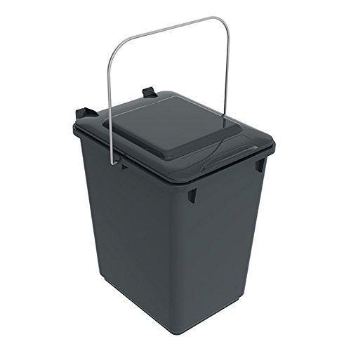 SULO Mülleimer Vorsortierbehälter Bio Boy, Inhalt 10 l - Dunkelgrau