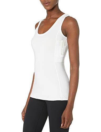 UnderTech Undercover Women's Concealment Tank Top Single Shirt - White - Large