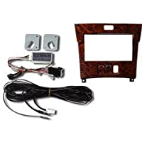 Beat-Sonic MVA-23WD2 Double DIN Audio Integration Installation Kit for 2001-2003 LEXUS LS430 without Mark Levinson and with Factory Navigation (Dark Brown Wood Trim Color)