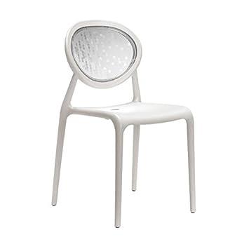 Idea Sillas Bar 6, sillas de Polipropileno Reforzado para Exterior ...