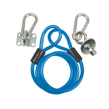 BK Resources BKG-RCK-24 Restraining Cable Kit, fits 24 inch hose, includes mounting hardware, blue, cCSAus ()
