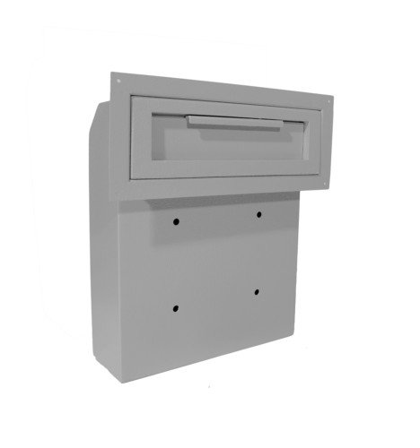 Commercial Mailbox Door - DuraBox Through-The-Door Locking Drop Box (D500)
