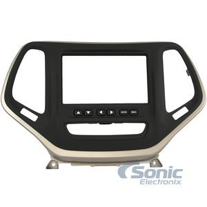 Metra Electronics 99-6526BZ Custom Fit Mounting Kit ISO Double DIN Radio Provision Incl.: Radio Trim Panel/Radio Brackets/Axxess Interface And Wiring Harness Custom Fit Mounting Kit