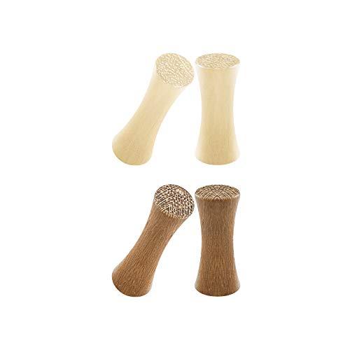 Crocodile Wood - BIG GAUGES 2 Pairs Crocodile Wood 8gauges 3 mm Teak Double Flared Saddle Piercing Jewelry Stretcher Earring Ear Flesh Lobe Plugs BG7751