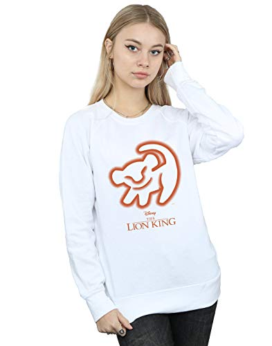 Drawing Camisa The Disney Cave Mujer Entrenamiento King Lion Blanco De ORxRTv
