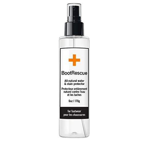 BootRescue Protector Spray - 6 oz for Leather, Suede and Fabric