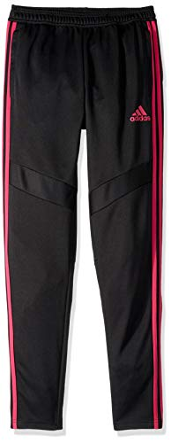 Price comparison product image adidas Youth Soccer Tiro Training Pants,  Black / Real Magenta,  Medium
