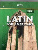 Glencoe Latin for Americans Test Book