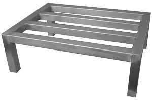 (ACE All Welded Heavy Duty Aluminum Dunnage Rack, 20
