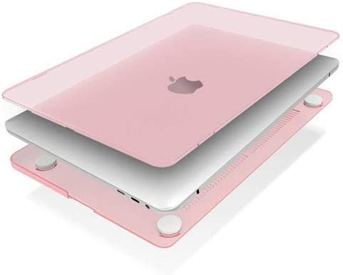 IBENZER Neon Party Protective Case for 13 Apple Mackbook Pro with Touch Bar /& None Touch Bar Rose Quartz