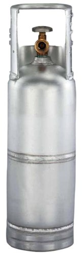 Worthington 299494 6-Pound Aluminum Propane Cylinder With Type 1 With Overflow Prevention Device - Fuel Aluminum Tanks