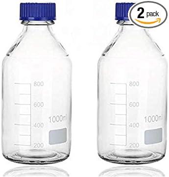 Sigg vidrio borosilicatado Star Midnight azul 0,85l botella de agua nuevo borosilikateglas