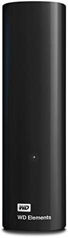 Western Digital 3 TB Elements Desktop externe Festplatte USB3.0 -WDBWLG0030HBK-EESN