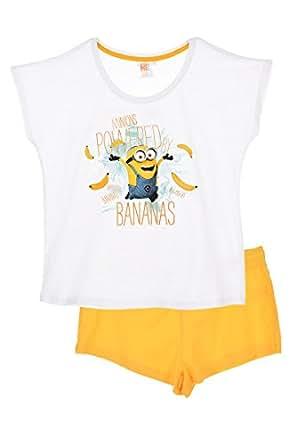 Pijama Minions Mujer BLANCO (XL)