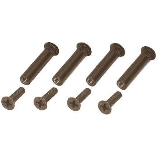 XLC Unisex One Size Adult Screw Bolt 2500373007 Screw Bolt Set Black