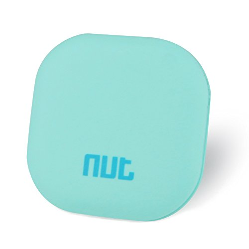 Wireless Bluetooth Tracker Smart Item Finder Nut 3s Key Finder Wallet Finder Anything Finder and IOS/Android Compatible--Mint Green