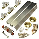 LE Johnson Products 134F722D 72 In. 2 Door By pass Hardware Sets