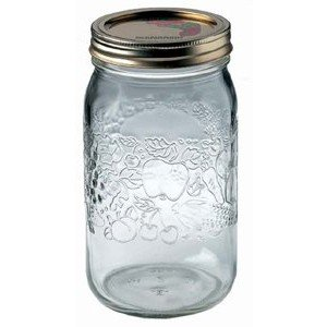 Bernardin Mason Jars - 1 L - Decorative