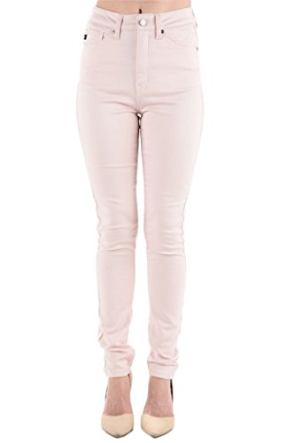 (Kan Can Women's High Rise Skinny Jeans (9, Soft Feather))