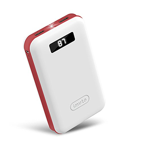 435 opinioni per iMuto- Power Bank Compatta 20000mAh Caricabatterie Portatile Batteria Esterna