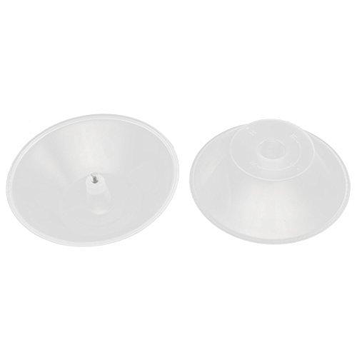 Amazon.com: Aceite de plástico bandeja de recogida de Copa Filtro Cocina Campanas de piezas 2 piezas: Kitchen & Dining
