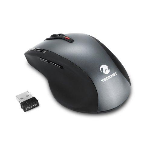 TeckNet 2.4 G Wireless Mouse, 8 Buttons , 3 Adjustable DPI L