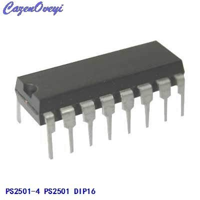 Cailiaoxindong 10pcs//lot PS2501-4 PS2501 DIP-16 optocouplers New Original in Stock