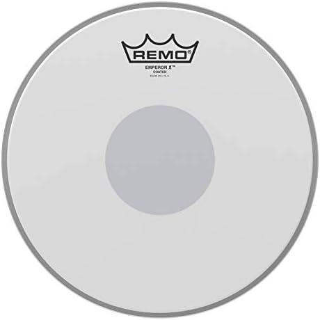 Remo Emperor X Beschichtetes Snaredrumfell, 33 cm, Schwarz mit Punkten 10 Inches