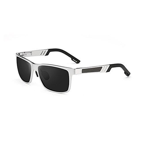 la los alta la definición sol de hombres protección manera de de sol de conducción de Gafas del ZHIRONG polarizadas sol montar Gafas gafas la caballo E del a sol de de B Color de YCnwE8qxBX