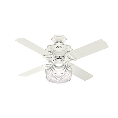 """Hunter 52260 Brunswick 44"""" Ceiling Fan with Light and Remote"""