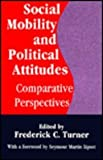 Social Mobility and Political Attitudes : Comparative Perspectives, , 0887383475