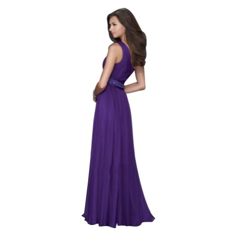 Shoulder Perlen mit Lila Abendkleid Spalte Applikationen BRIDE Liebsten Ein Mantel GEORGE qxpgX7wP