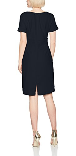 FEMME Navy Donna Sfnewsmile Navy Slit Blu Vestito Dark Ex Dress SELECTED Ss Dark dwfvq5x0R
