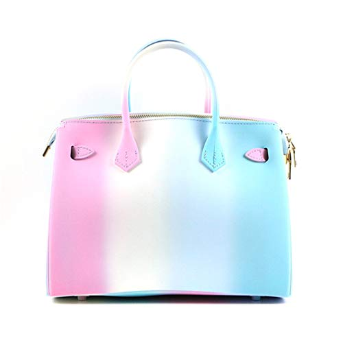 Jelly Femmes 1 Color Main Plage Sac Sac PVC épaule Couleur à Candy 1 Sacs Color de EqfX6