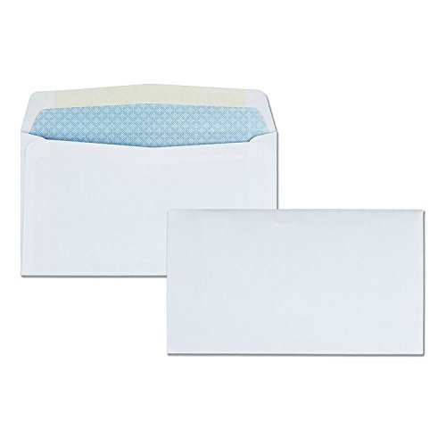 # 6 3/4 Envelope, White 3 5/8