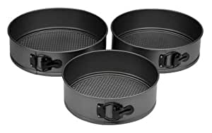Oneida Platinum Springform Pans, 3 Pack