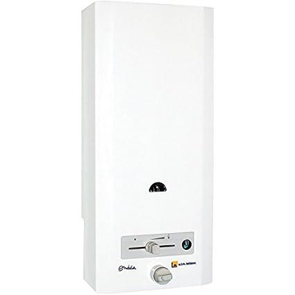 Calentador de agua de gas con producción instantanee ONDEA triple seguridad sin mezclador de gas natural