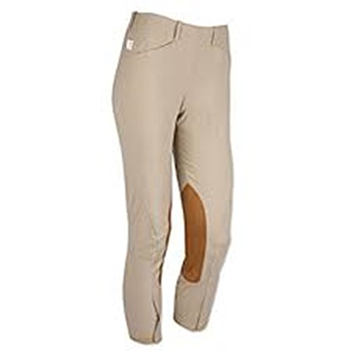Tailored Sportsman Trophy Hunter Low Rise Side Zip Kids Breech (Tan, 20R)