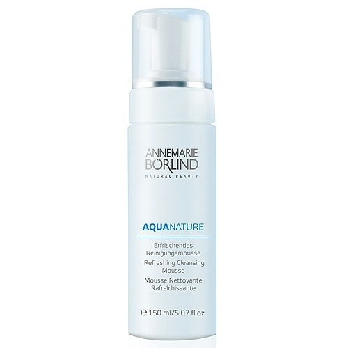 Annemarie Borlind Aquanature Refreshing Cleansing Mousse 5.07oz,150ml NEW