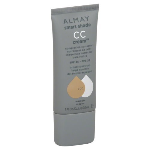 New Almay Smart Shade Cc Cream 300 Medium (Pack of 2) by Almay Cos ()