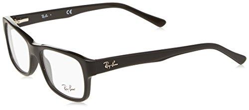 Ray-Ban RX5268 Eyeglasses Matte Black - Ray Matte Eyeglasses Ban