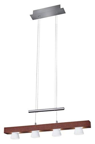 "Price comparison product image Adesso 3097-15 Burlington 38""-69"" LED 4 Light Pendant"