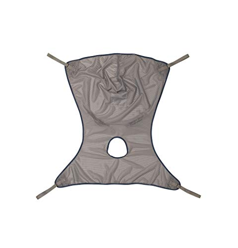 Invacare Comfort Sling for Patient Lifts with Commode Opening, Small, Net Fabric, 2451097 (Invacare 450 Lift Control)