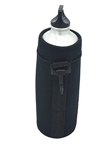 4d17f8fbf43f Neoprene Water Bottle Carrier ,Water Bottle Cooler Sleeve Tote Bag Pouch  Holder Strap for Kid Children Women MEN Biker Travel Cycling Climbing  Sports ...