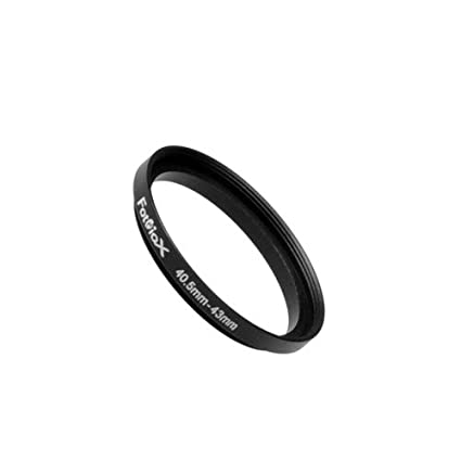 Fotodiox Metal Step Up Ring Filter Adapter 52-62 mm Anodized Black Aluminum 52mm-62mm