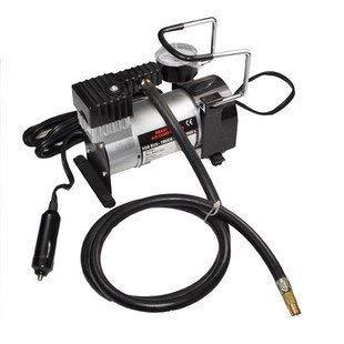 XLF Compresor de Aire portátil de la Bomba del Coche de Super Flow 12V / inflador eléctrico Auto del neumático: Amazon.es: Deportes y aire libre