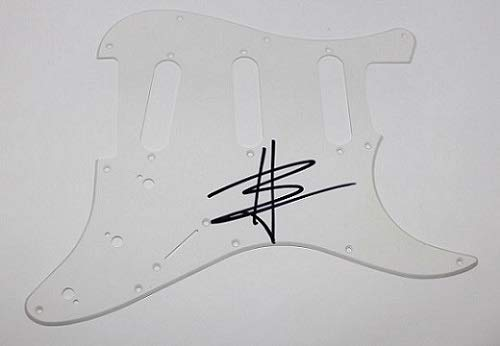 Avenged Sevenfold Hail to the King Synyster Gates Authentic Signed Autographed Fender Strat Electric Guitar Pickguard Loa